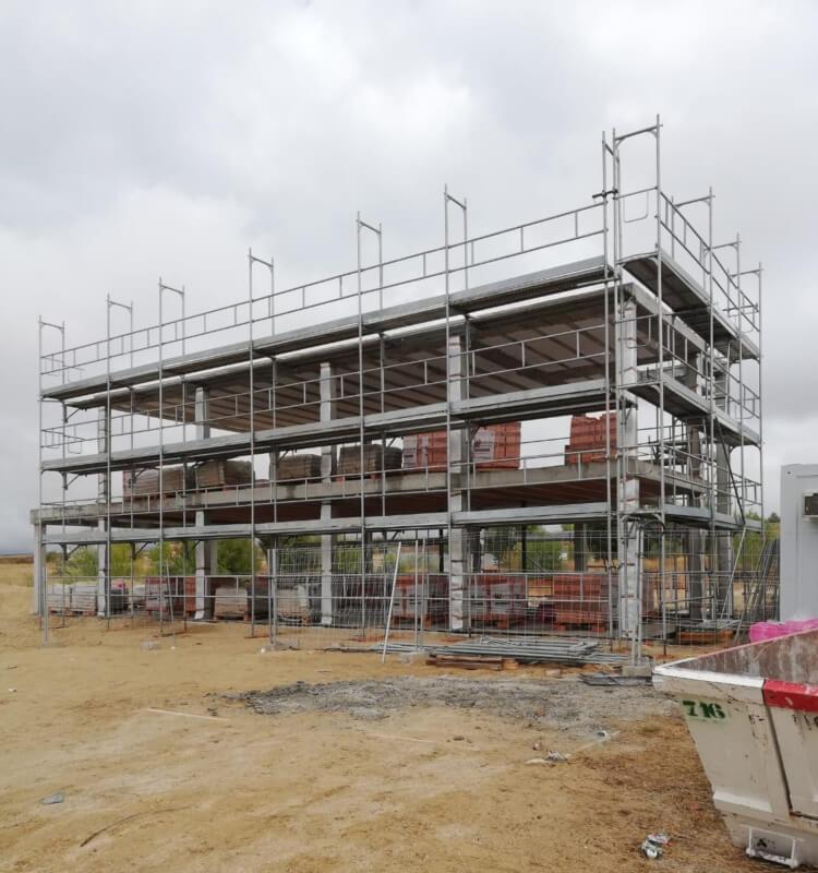 Alquiler y montaje de andamio en Majadahonda