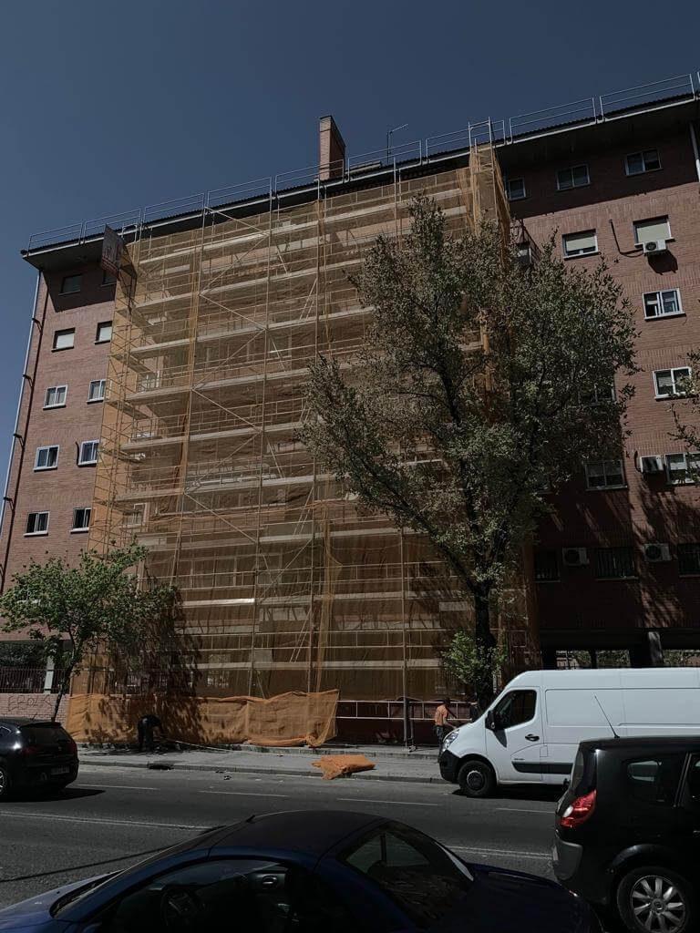 Empresa de alquiler de andamios en el Sur de Madrid