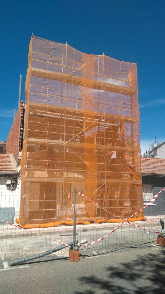 Empresa de alquiler de andamios en Torrejón de Ardoz