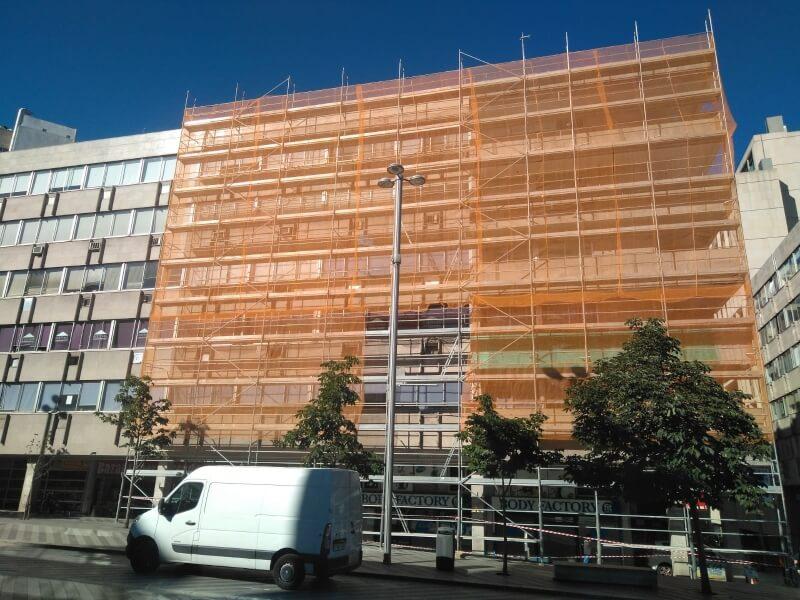 Empresa de transporte de andamios en Madrid
