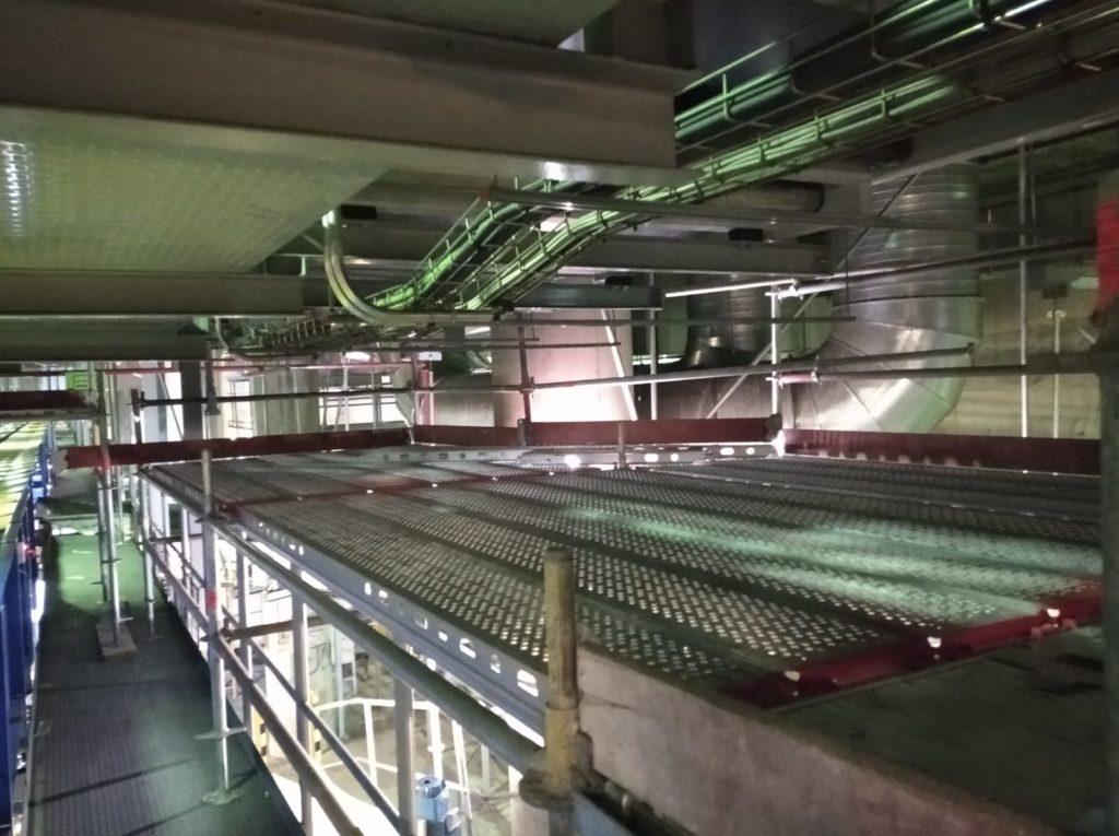 Montaje de andamios en Barajas